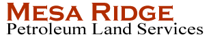 Mesa Ridge's Company logo